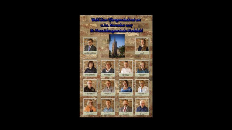 Pfarrgemeinderatswahl 2017
