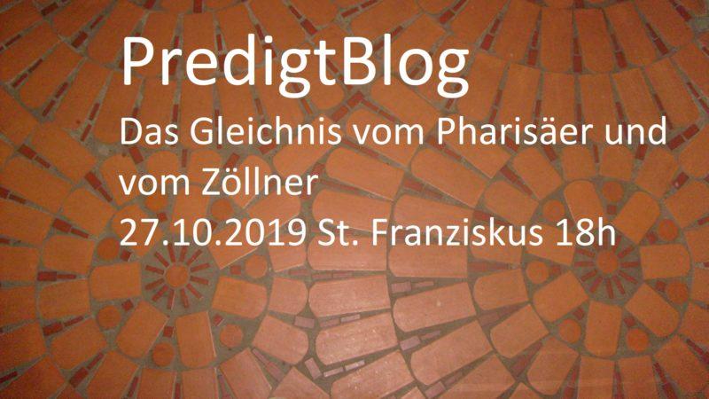 Das Gleichnis vom Pharisäer und vom Zöllner